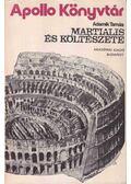 Martialis és költészete - Adamik Tamás