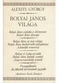Bolyai János világa - Alexits György