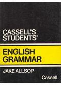 Cassell's Students' English Grammar - Allsop, Jake