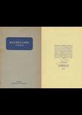 Versek (számozott, fordító által aláírt) - Charles Baudelaire