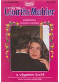 A végzetes levél - Courths-Mahler, Hedwig