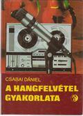 A hangfelvétel gyakorlata - Csabai Dániel