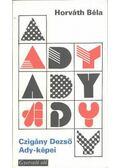 Czigány Dezső Ady-képei - Horváth Béla