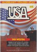 Hildebrand's Straßen-Atlas USA - Der Westen - Dr. Bernd Peyer, Ellen Knutson