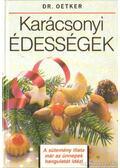 Karácsonyi édességek - Dr. Oetker