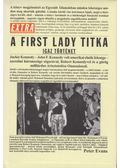 A First Lady titka - Evans, Peter