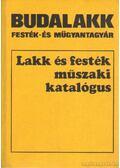 Lakk és festék műszaki katalógus - Hackl J. Vilmos