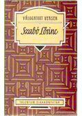 Válogatott versek - Szabó Lőrinc - Kaiser László