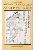 Dissertatio de acupunctura / Az akupunktúráról - Laner Antal