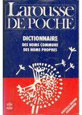 Larousse de poche - Dictionnaire des noms communs, des noms propres, précis de grammaire