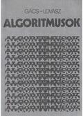 Algoritmusok - Lovász László, Gács Péter