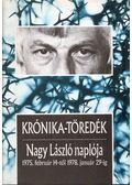 Krónika-töredék - Nagy László