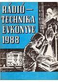 Rádiótechnika évkönyve 1988 - Stefanik Pál