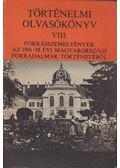 Történelmi olvasókönyv VIII. - Szabolcs Ottó