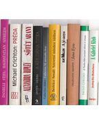 10 db vegyes külföldi regény - Több szerző