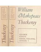 Sznobok könyve - Esszék, vázlatok, levelek I-II. - William Makepeace Thackeray