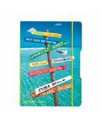 my.book flex A6 40 lap Utazás, kockás - 11415635