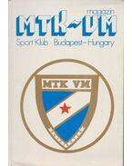 MTK-VM magazin Sport Klub Budapest-Hungary - Faludi Gábor, Heves Sándor, Sákovics-Dömölky Lídia, Károly Sári, Szegő András, Zsengellér Zsolt