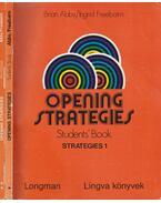 Opening Strategies I-II. - Abbs, Brian, Freebairn, Ingrid