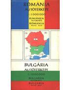 Románia autótérképe - Bulgária autótérképe (1:1000000) - --
