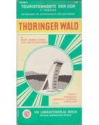 Thüringer Wald Touristenkarte - --