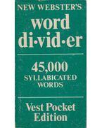 Word Divider - --