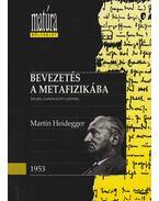 Bevezetés a metafizikába - Martin Heidegger, Vajda Mihály