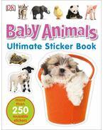 Baby Animals matricavilág - angol nyelvű matricás foglalkoztató - .