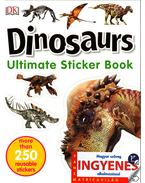 Dinosaurs matricavilág - angol nyelvű matricás foglalkoztató - .