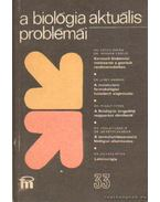 A biológia aktuális problémái 1985/33