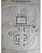 A Budapesti Nemzetközi Vásár alaprajza és jelmagyarázata (1942)