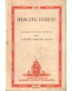 Herczeg Ferenc - A Petőfi Társaság Tagjai