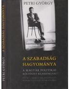 A szabadság hagyománya - Petri György
