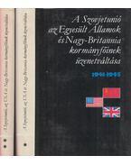 A Szovjetunió, az Egyesült Államok és Nagy-Britannia kormányfőinek üzenetváltása 1941-1945 I-II. kötet