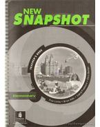 New Snapshot elementary teacher's book - Abbs, Brian, Freebairn, Ingrid, Barker, Chris, Linley, Fran