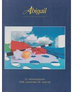 Abigail Galéria és Aukciós Ház: 22. festményárverés