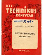 Kis villanymotorok házi készítése - Abramov-Hlebnyikov
