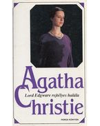 Lord Edgware rejtélyes halála - Agatha Christie