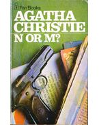 N or M - Agatha Christie