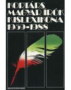 Kortárs magyar írók kislexikona 1959-1988 - Agócs Sándor, Ács Margit, Dobos Gyula, Farkas Pál, Zsámboki Mária, Fazakas István