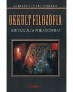 Okkult filozófia II. - II. kötet - Agrippa von Nettesheim