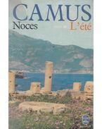 Noces suivi de L'Été - Albert Camus