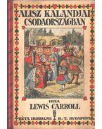Alisz kalandjai csodaországban - Lewis Carroll