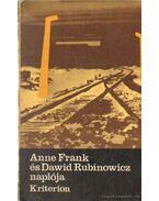 Anne Frank és Dawid Rubinowicz naplója - Anne Frank, Dawid Rubinowicz