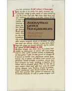 Gesta Hungarorum - Anonymus