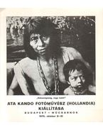 Ata Kando fotóművész kiállítása - Boglár Lajos