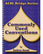 Commonly Used Conventions (ACBL Bridge) - Audrey, Grant