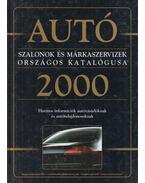 Autószalonok és márkaszervizek országos katalógusa 2000