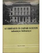 Az erdészeti és faipari egyetem tudományos közleményei 1964. év 2. szám - Pankotai Gábor