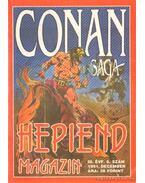 Conan saga 1991. december III. évfolyam  6. szám - Szántó I. Péter